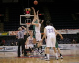 Seton vs Norwich at The 2009 STOP-DWI Holiday Classic Basketball Tournament