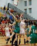 Seton Catholic Central High School's Girls Basketball Team versus Chenango Valley High School