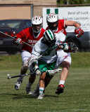 Seton Catholic Central's Boys Lacrosse Team versus Chenango Valley High School in the Section 4 Playoffs