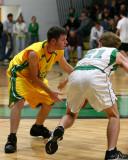 Seton Catholic Central High School's Boys Varsity Basketball Team versus Greene High School