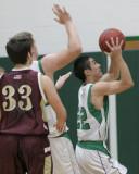 Seton Catholic Central High School's Boys Varsity Basketball Team versus Whitney Point High School
