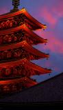 Senso-Ji temple pagoda