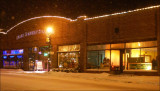 The Historic Viroqua Public Market in Snow