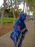 sarong counters California rain
