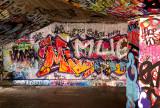 Graffiti on the Thames