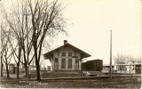 Belleville Wisconsin Depot  Illinois Central Depot.JPG