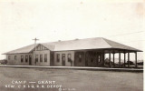 Camp Grant Illinois Depot c1910  Chicago Burlington  Quincy Railroad Depot.JPG