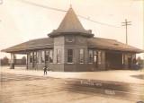 Corliss Wisconsin Depot  Chicago Milwaukee St. Paul  Pacific Railroad Depot.JPG