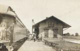 Forreston, Illinois Depot c1912  Illinois Central Depot.