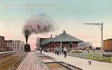 Freeport Illinois Depot  Illinois Central  Chicago  North Western Railroad Depot.JPG