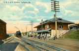 LaSalle Illinois Depot c1913  Chicago Rock Island  Pacific Railroad Station.JPG