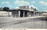 Maquoketa Iowa Depot c1922  Chicago Milwaukee St. Paul  Pacific Railroad Depot.JPG