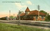 Ottawa Illinois Depot c1908  Chicago Rock Island  Pacific Railroad Depot.JPG