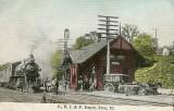 Peru Illinois Depot c1910  Chicago Rock Island  Pacific Railroad Depot.JPG