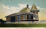 Rockton Illinois Depot c1910  Chicago Milwaukee St. Paul  Pacific Railroad Depot.JPG