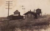 Woodbine Illinois Depot  Chicago Great Western Railroad Depot.JPG