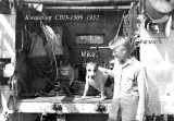 Pat Morris & Mike the Dog 1952