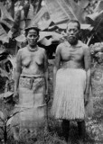 1938Marshallese Couple In Traditional Dress