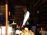 Waiter and porcini