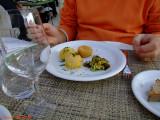 Polpette di baccalà mantecato con zucchine