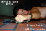 HGRP Model Stacey Leigh Cuffed to the Floor