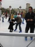Teaching daddy to skate