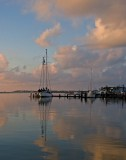 Pastel Morning:  Fulton Marina_Rockport
