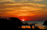 Copano Ridge Sunset
