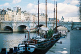 Boats on Seine River