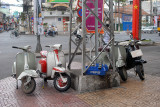 Classic vespas for sales, Saigon