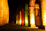 Fountains Abbey Coloured Lights  09_DSC_8081