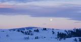 Moonset Meets Sunrise