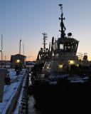 Dockside morning II