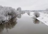 Winter morning on the Cornwallis River
