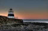Margaretsville, Nova Scotia in morning light