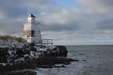 Margaretsville, Nova Scotia in winter