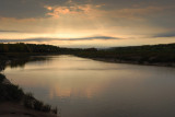 A gathering storm; late evening on the Gaspereau River