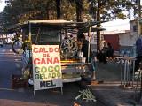 A roadside stand selling fresh squeezed sugarcane juice - Sao Carlos, Brazil