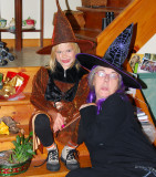 Halloween witches convention