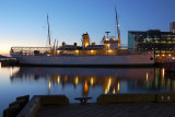 MV Acadia at Dock