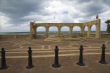 The New Piazza at HaAliya Beach in Jaffa
