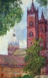 Turnuri de catedrala.  (colectie autor)