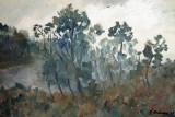 Peisaj cu arbori(colectie particulara)