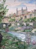 Peisaj din Toledo  (colectie autor)