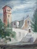 Biserica-Nordul Italiei  (colectie particulara)