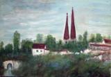 Peisaj din Praga  (colectie muzeu)