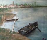 In laguna Venetiei(colectie autor)