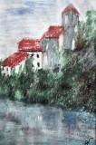 Peisaj din Croatia  (colectie muzeu)