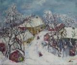 Dimineata de iarna  (colectie particulara)