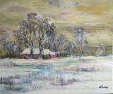 Iarna in Delta  (colectie muzeu)